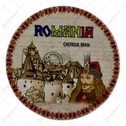 Suport pentru pahare realizat din ceramica - Design Castelul Bran