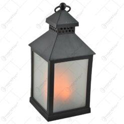 Felinar cu lumina led - Negru