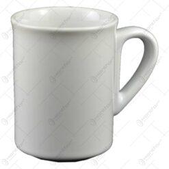 Cana realizata din ceramica - Design Clasic - Alb