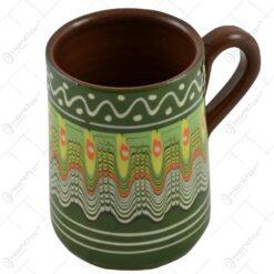 Halba de bere realizata din ceramica bulgareasca (Model 2)