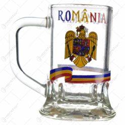 Pahar cu toarta tip shot - Design Romania