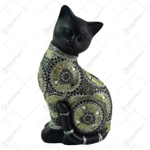 Figurina realizata din rasina in forma de pisica (Model 3)