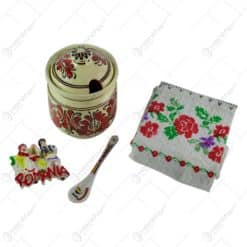 """Set cadou pentru femei - Desing traditional """"Romania"""""""