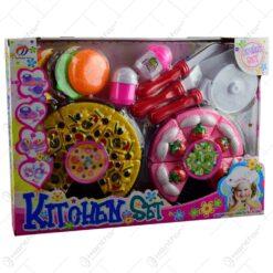 Set accesorii de bucatarie realizate din plastic pentru copii (Model 1)