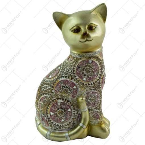Figurina realizata din rasina in forma de pisica (Model 4)