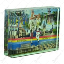 Obict decorativ realizat din sticla - Design Romania - Diferite modele (Tip stativ)
