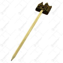 Creioane tip suvenir decorate cu Castelul Bran si Vlad Tepes - 2 modele