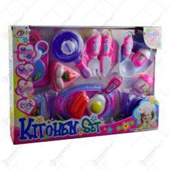 Set accesorii de bucatarie realizate din plastic pentru copii (Model 2)