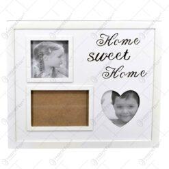 Rama foto din lemn cu led - Design Home Sweet Home