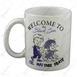 "Cana realizata din ceramica - ""Cel mai tare frate"" - Welcome to the Black Sea"