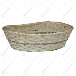 Cos oval realizat din bambus (Model 1)