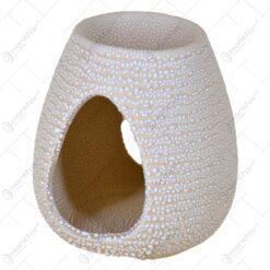 Candela aromaterapie pentru uleiuri esentiale realizata din ceramica - 2 modele