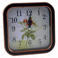 Ceas de masa patrat - Design floral - Diverse modele