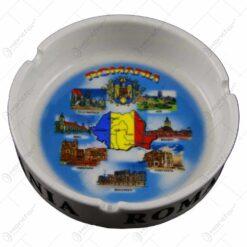 Scrumiera realizata din ceramica - Design Romania - Diverse modele (Model 1)