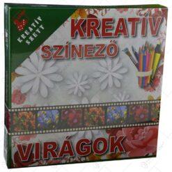 Set creativ pentru colorat - Viragok
