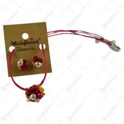Set colier cu cercei handmade - Diverse modele