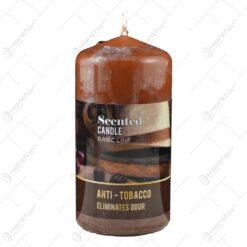 Lumanare parfumata cilindrica - Antitabac