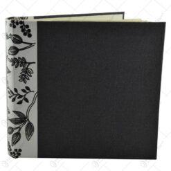 Album pentru fotografii - Design cu flori si frunze - Diverse culori