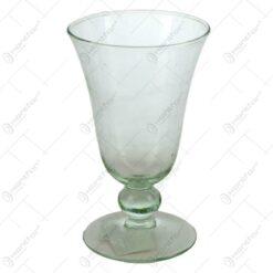Vaza cu talpa realizata din sticla - Design Clasic (Tip 1)