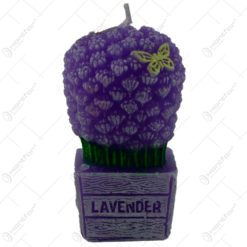 Lumanare parfumata in forma de buchet de lavanda - Design Lavender Bouquet