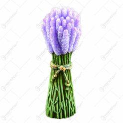 Lumanare parfumata in forma de buchet de flori cu aroma de lavanda - Lavanda Bouquet