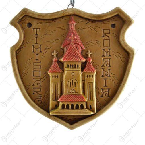 Aplica ipsos patrat relief - Romania/Dracula