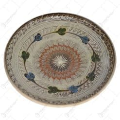 Farfurie realizata din ceramica de Horezu- Diferite modele