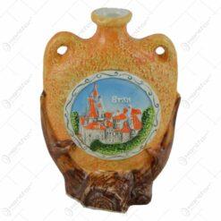 Ornament realizat din ceramica - Design Castelul Bran