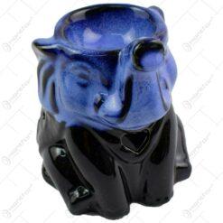 Candela aromaterapie realizata din ceramica in forma de elefant - Diverse modele (Model 2)