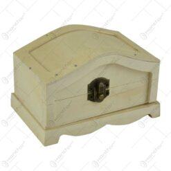 Cutie din lemn natur elegant