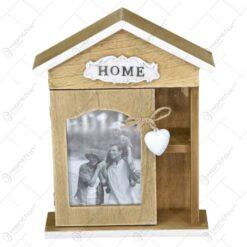 Cutie pentru chei realizat din lemn - Home - Design Rustic (Tip 1)