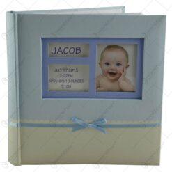 Album pentru fotografii - Design Baby cu fundita