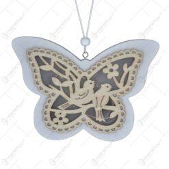 Decoratiune cu led cu agatatoare - Design Fluture
