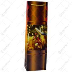Punga cadou pentru bautura cu design pahar - struguri