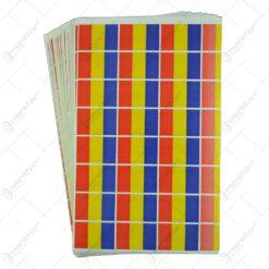 Set abtibil 100 bucati - Steagul Romaniei