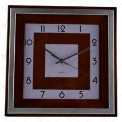 Ceas pentru perete realizat din sticla