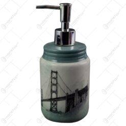Dozator pentru sapun lichid din ceramica