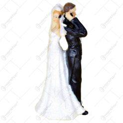 Figurina decorativa pentru tortul de nunta - Mirii