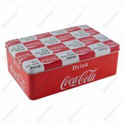 Cutie metalica - Design Coca-Cola