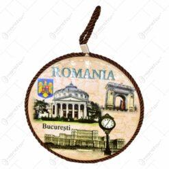 Decoratiune cu agatatoare din ceramica - Design Romania