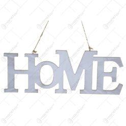 Decoratiune pentru usa realizata din lemn - Design Home (Model 1)