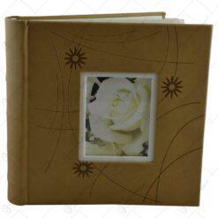 Album pentru fotografii - Design cu trandafiri - Diverse culori