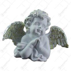 Figurina decorativa realizata din rasina - Ingeras (Model 1)