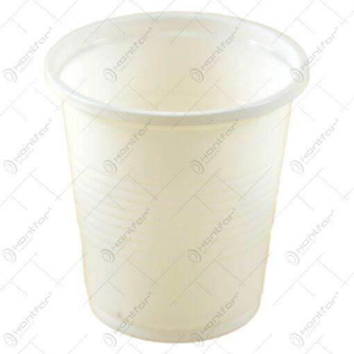 Set 20 pahare de unica folosinta realizate din plastic (1 DL)
