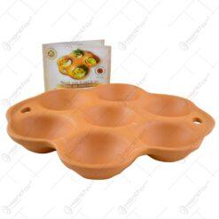 Vas din lut pentru fript oua - 7 locuri