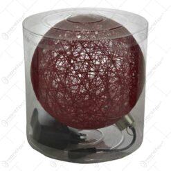 Glob realizat din plastic cu led - Diverse culori