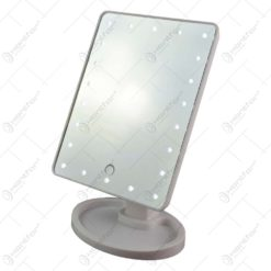 Oglinda de masa cu lumini led