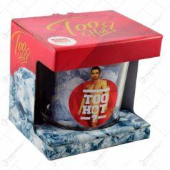 Frapiera gheata din sticla in cutie decorativa - Too Hot Man