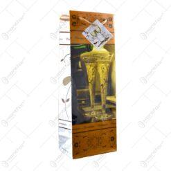 Punga cadou pentru bautura - Design Sampanie