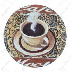 Magnet realizat din ceramica - Lavanda Casuta / Coffee - Diferite modele